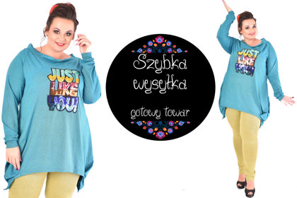 Bluza morska JUST LIKE YOU