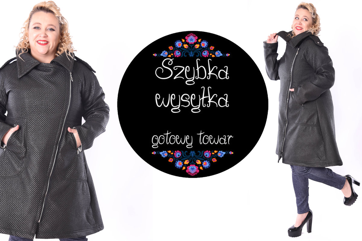 Kurtka/płaszcz pikowana