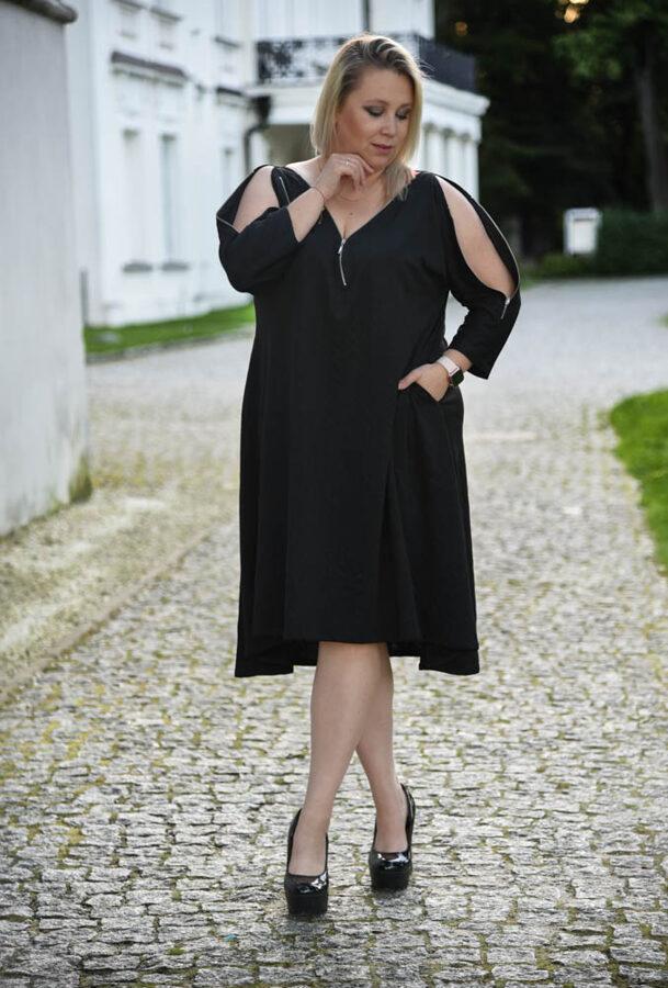 Sukienka zippo