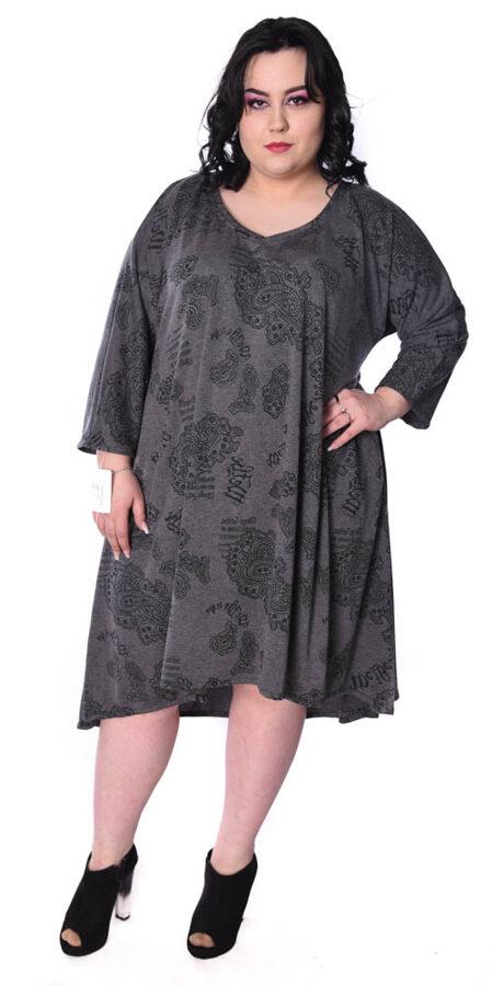 Sukienka Szara wzór