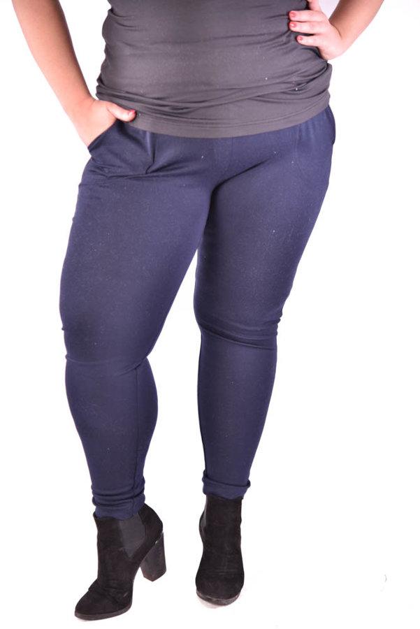 Spodnie Ciemny Granat