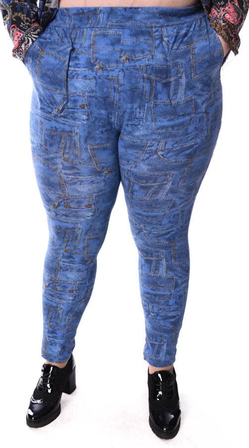 Spodnie kieszonki jasny jeans