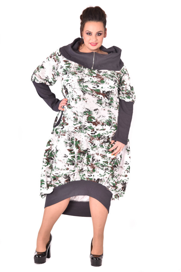 Sukienka Oversize moro natural