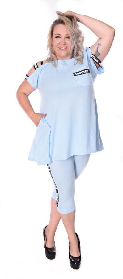 Komplet łobuziak niebieski