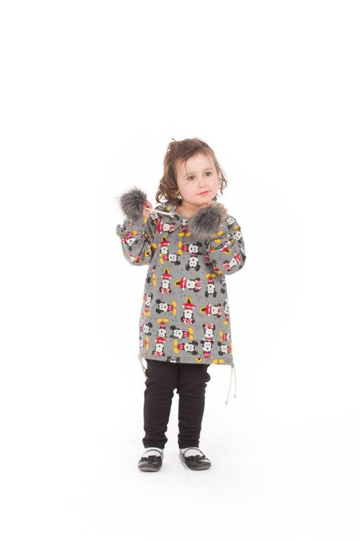 Kangurka Mickey z pomponami dziecięca