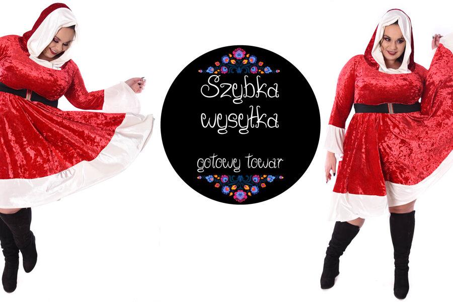 Sukienka  Mikołajka